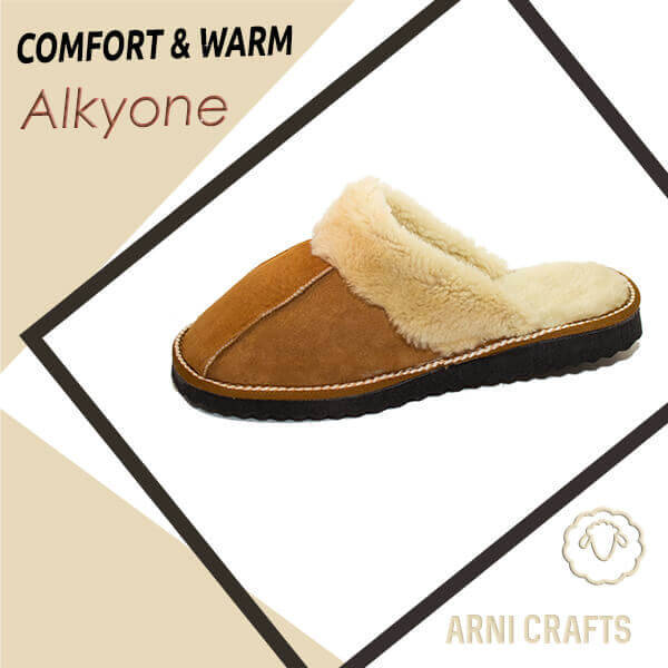 Alkyone Women Leather Slippers
